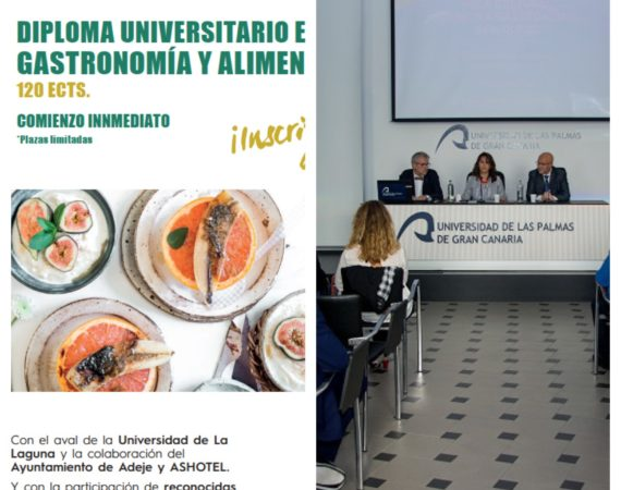 Las Universidades de La Laguna y Las Palmas, cara y cruz en la apuesta por la gastronomía