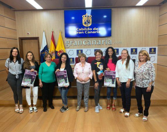 Un centenar de mujeres grancanarias, protagonistas de la Primera Trashumancia 100% femenina de España